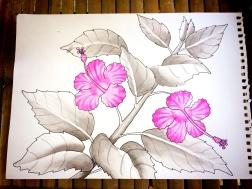 atercolor Class Bali © Nicole Geils