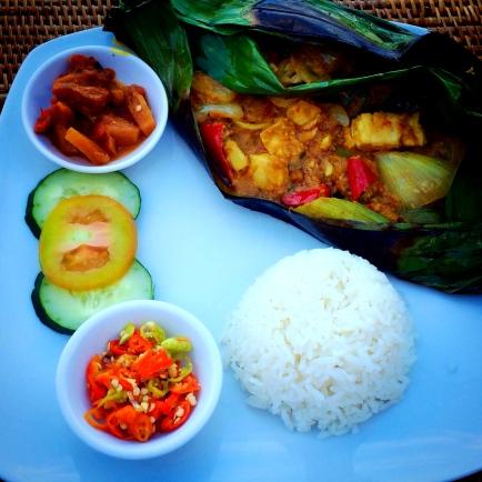 Bali Fish Curry Dinner © Nicole Geils